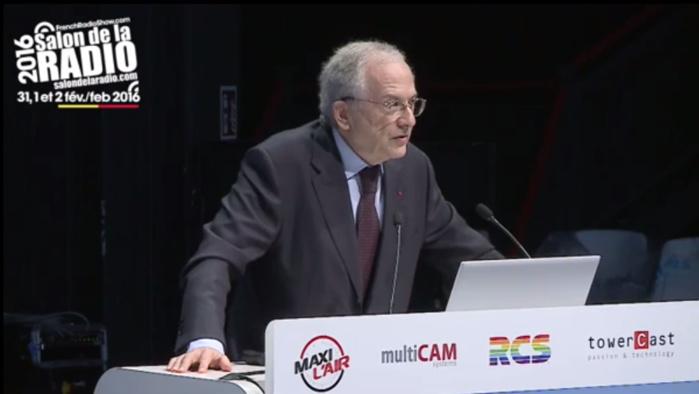 Olivier Schrameck au Salon de la Radio en 2016