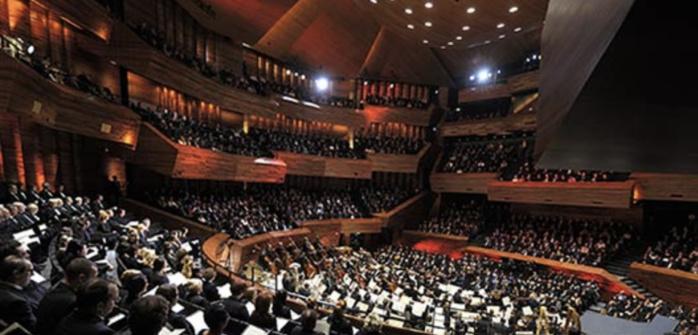 Trois bougies et 350 000 spectateurs pour l'Auditorium de Radio France