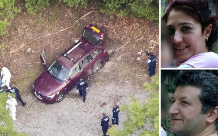 Le couple retrouvé mort dans sa voiture à Chevaline - Crédit Photo : FB