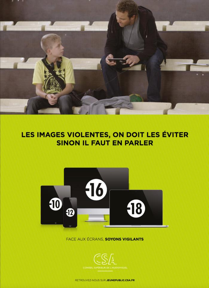 Nouvelle campagne sur la protection du jeune public