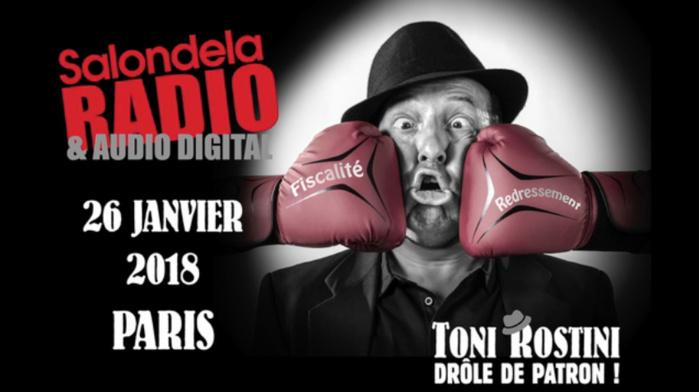 "Bruno Rost sera ""Toni Rostini"" au Salon de la Radio"