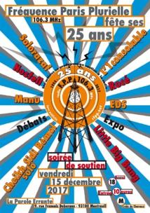 Une soirée de soutien pour les 25 ans de FPP