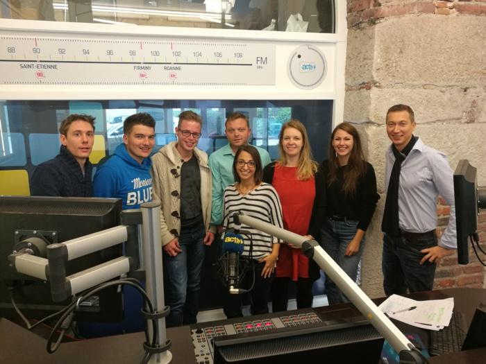 Dans la Loire, la jeunesse d'Activ Radio dynamise la bande FM © 3XL Médias - Olivier Malcurat