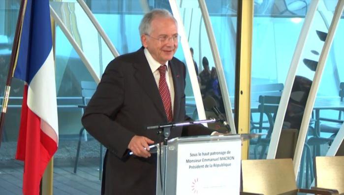 "Olivier Schrameck veut ""une Europe des régulateurs"" © Twitter CSA"