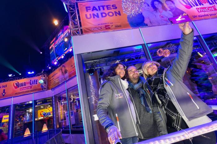 Un Noël solidaire sur VivaCité avec Sara De Paduwa, Cyril et Ophélie Fontana