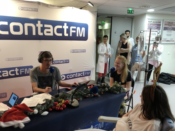 Contact FM en direct du Centre Hospitalier de Valenciennes