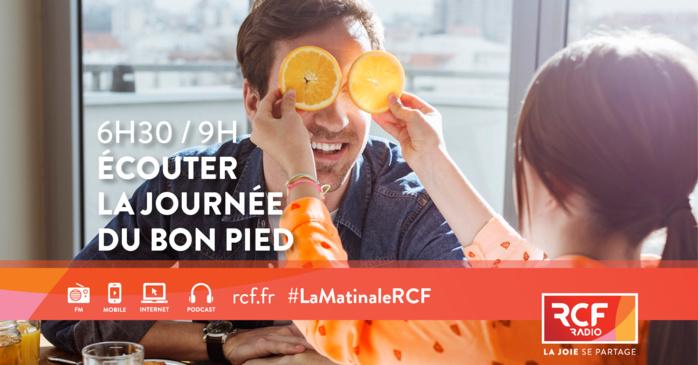 """La nouvelle matinale RCF est un rendez-vous qui permettra """"de répondre encore mieux aux attentes des auditeurs le matin tout en conservant ce qui fait l'ADN et la différence de RCF""""."""