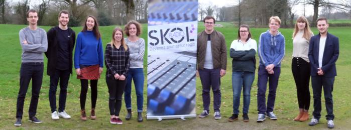 Hier, la Skol Radio a rouvert ses portes
