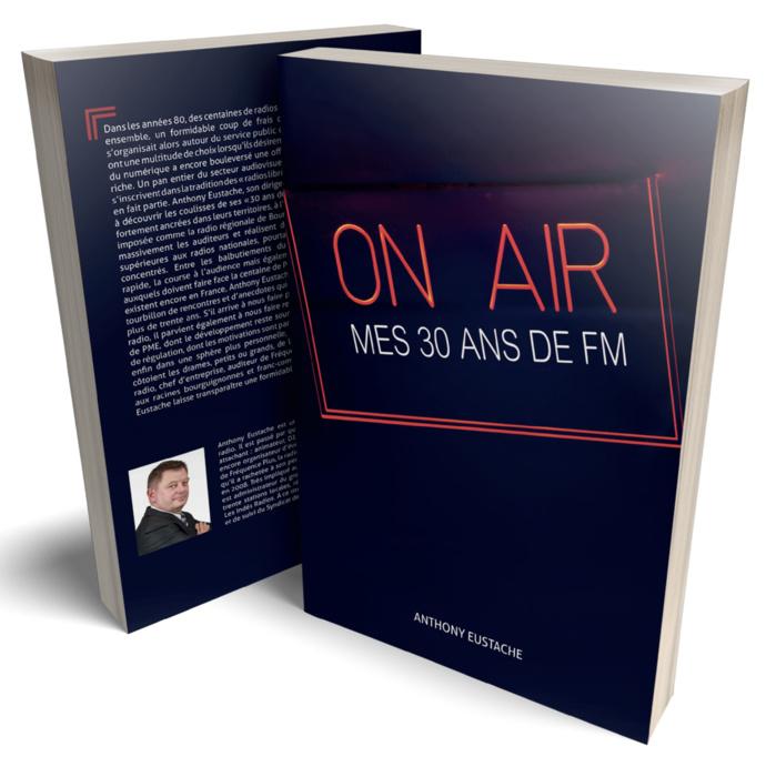 Salon de la Radio : Anthony Eustache dédicacera son livre