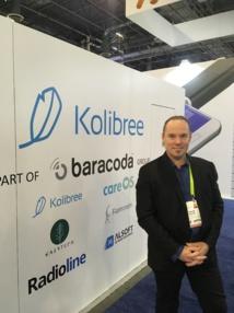 Xavier Filliol, COO de Radioline, présent au CES de Las Vegas