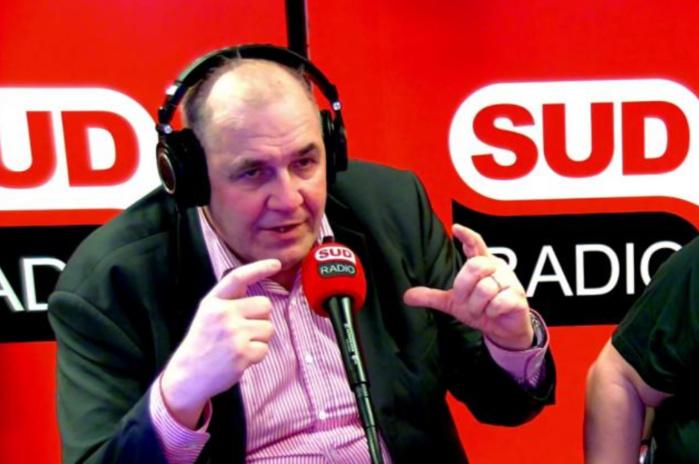 Nicolas Curien, hier matin, sur Sud Radio, évoquant la Radio Numérique Terrestre © Sud Radio