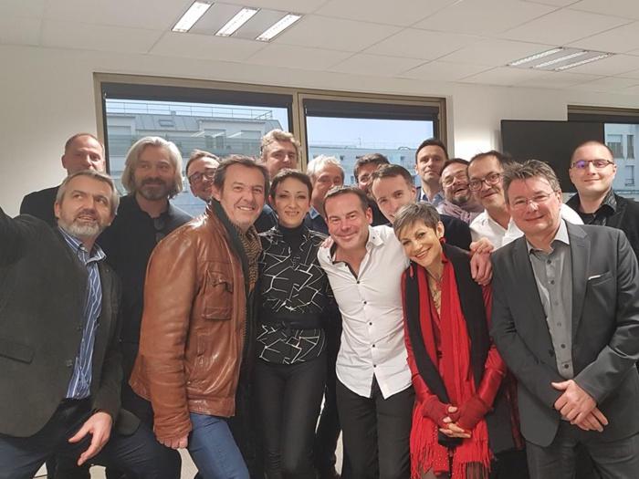 Le jury 2018 des Jeunes Talents de la Radio, de la TV et du net s'est réuni à Médiamétrie pour une dernière sélection avant la finale au Salon de la Radio, le 26 janvier prochain
