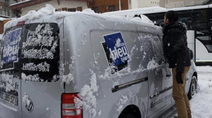 """La """"Tournée des neiges"""" porte bien son nom © Agnès Andreu/Radio France"""