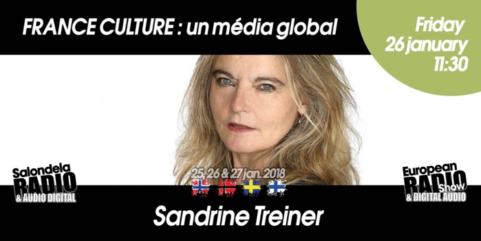 "Keynote ""France Culture un média global"" au Salon de la Radio"