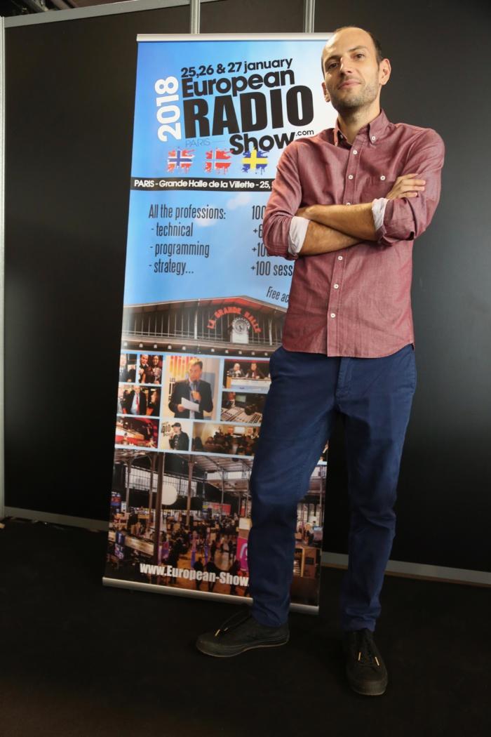 Meven Le Moign (RCI Guadeloupe) remporte le prix du jeune talent de journaliste radio 2018 © Serge Surpin / La Lettre Pro