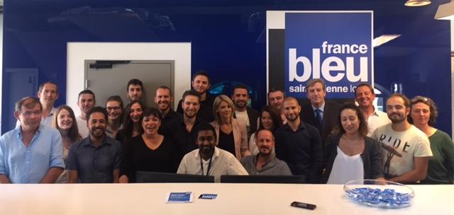 L'équipe de France Bleu Saint-Etienne Loire