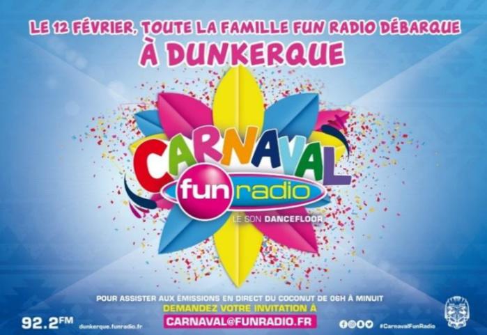 Fun Radio s'installe au Carnaval de Dunkerque