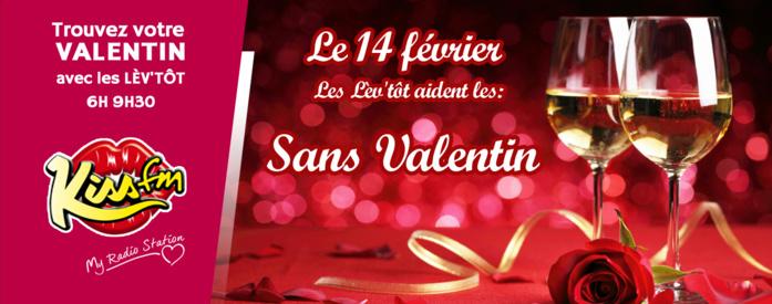 """La matinale de Kiss FM s'intéresse aux """"Sans Valentin"""""""