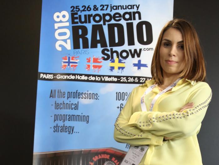 Trina Mac-Dinh est aujourd'hui au micro de Sud Radio © Serge Surpin / La Lettre Pro
