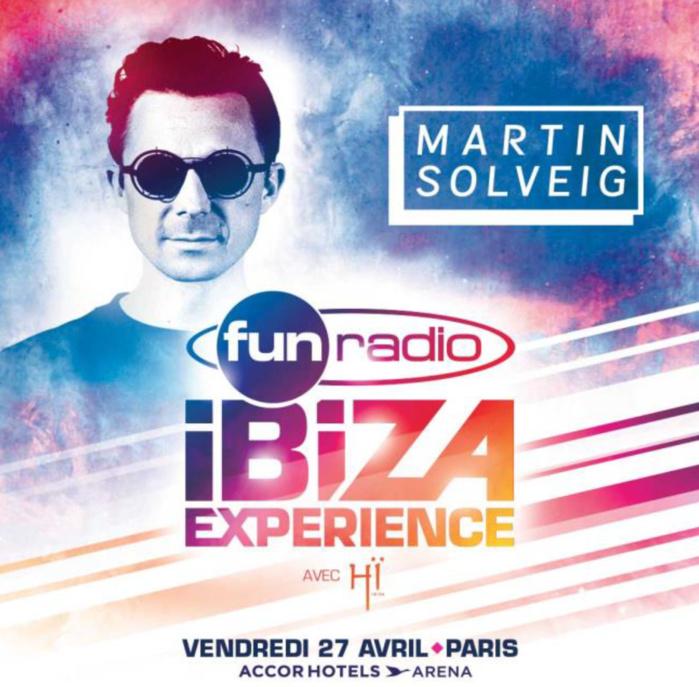Martin Solveig à la Fun Radio Ibiza Experience
