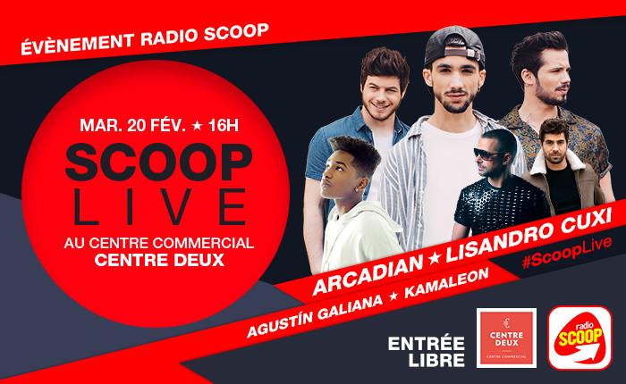 """Radio Scoop organise un """"Scoop Live"""""""