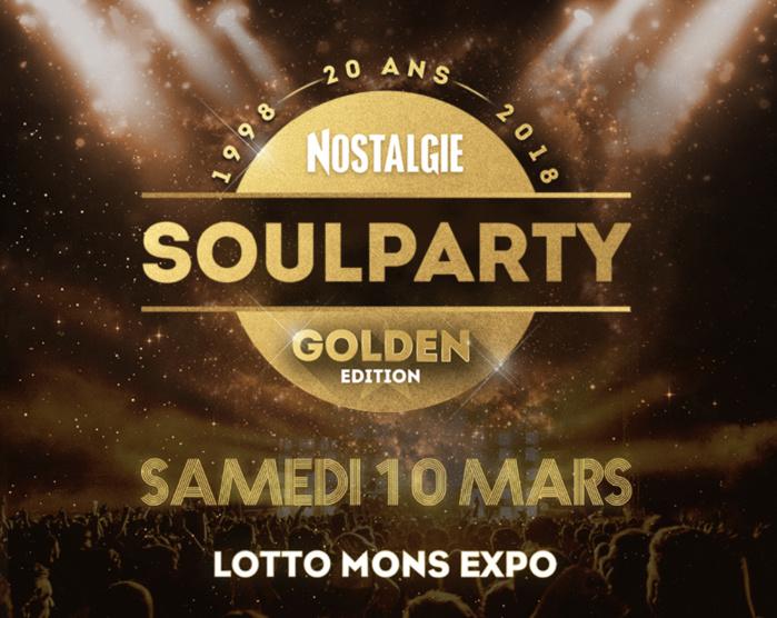 """Nostalgie Belgique : """"Soulparty"""" fête ses 20 ans"""