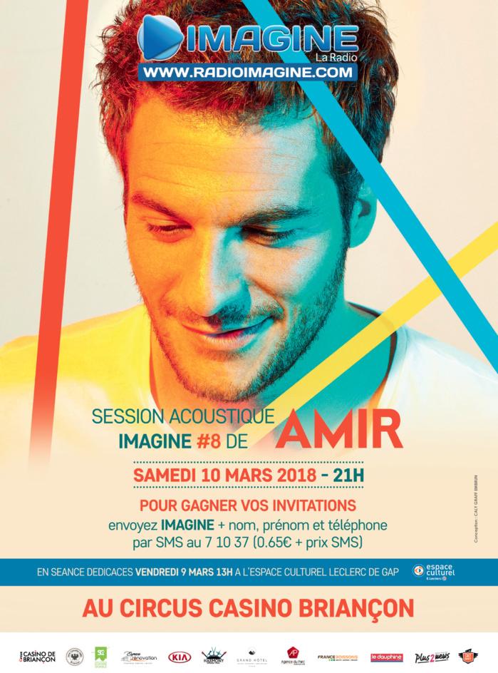 Un concert avec Amir pour Imagine la Radio