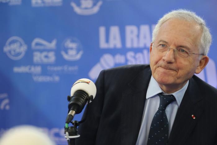 Olivier Schrameck, en janvier dernier, lors du Salon de la Radio à Paris