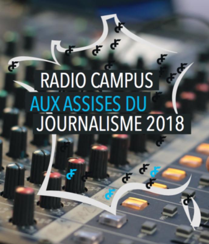 Le réseau Radio Campus aux Assises du journalisme de Tours
