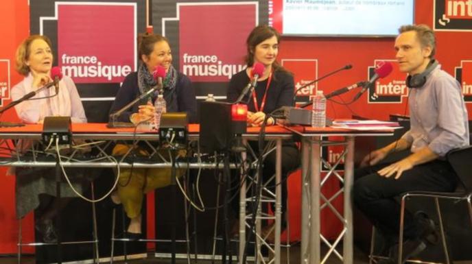 L'an passé, France Musique avait également délocalisé plusieurs de ses émissions au Salon du Livre de Paris © Radio France / Annick Haumier-France Musique