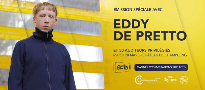 Activ Radio : 50 auditeurs rencontrent Eddy de Pretto