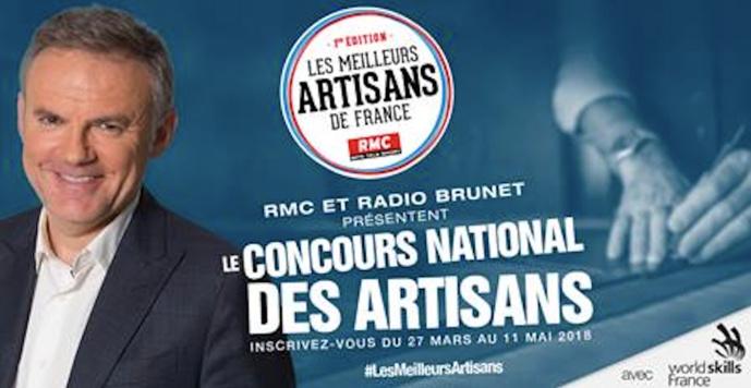 RMC organise le concours des Meilleurs Artisans de France