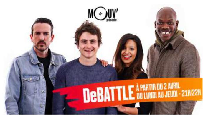 DeBATTLE : la nouvelle libre antenne de Mouv'