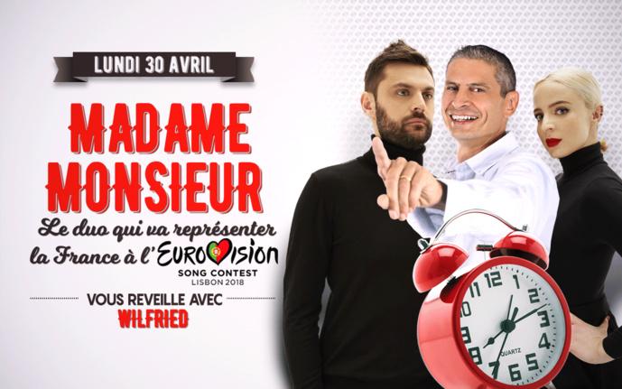 Avant l'Eurovision, Madame Monsieur est sur 100%