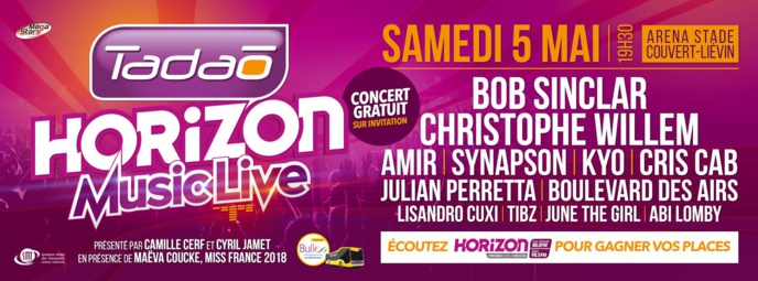 """Le concert """"Tadao-Horizon Music Live"""" est complet"""