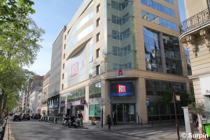 RTL inaugure son Grand Studio avec Sting et Calogero