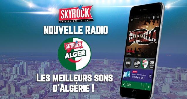 "Skyrock lance une ""mobi radio"" dénommée ""Skyrock Alger"""