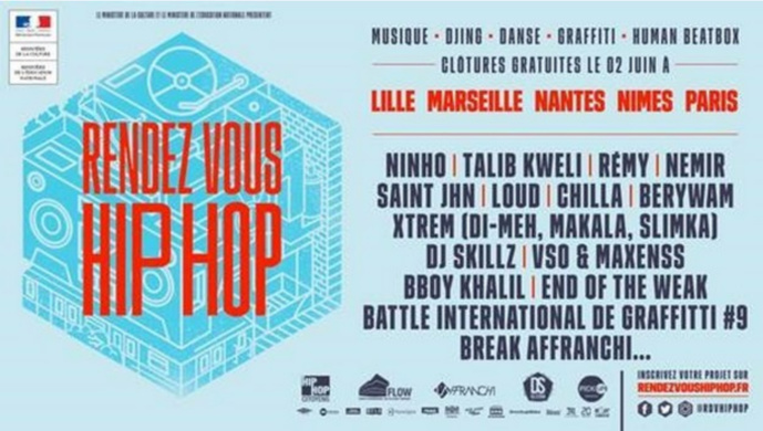 "Mouv' : un multiplex en direct de ""Rendez-vous Hip Hop"""