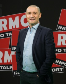 François Giuseppi a préparé la présence de RMC en Russie - Crédit RMC