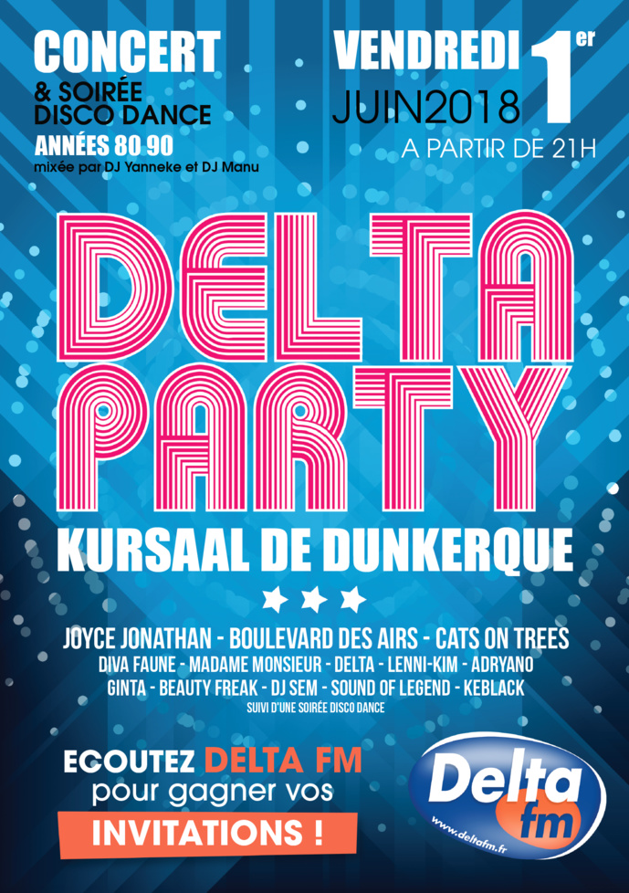 "Delta FM : 5 000 personnes attendues à la ""Delta Party"""