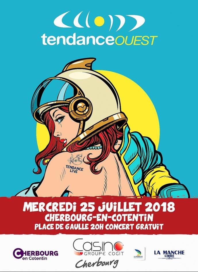 Tendance Ouest fête la mer et la musique à Cherbourg-en-Cotentin