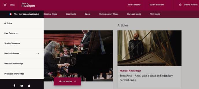 France Musique lance francemusique.com en anglais
