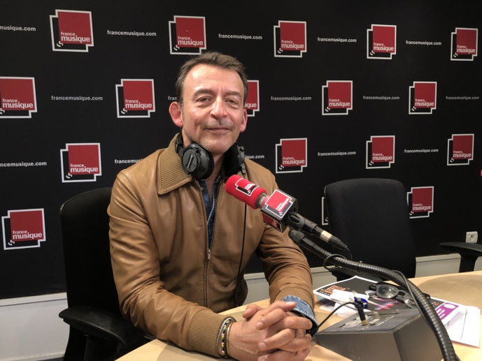 Marc Voinchet lance le site web en anglais : francemusique.com © François Quairel / La Lettre Pro de la Radio