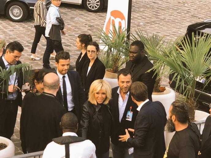 Brigitte Macron est probablement une auditrice de M Radio © François Quairel / La Lettre Pro de la Radio