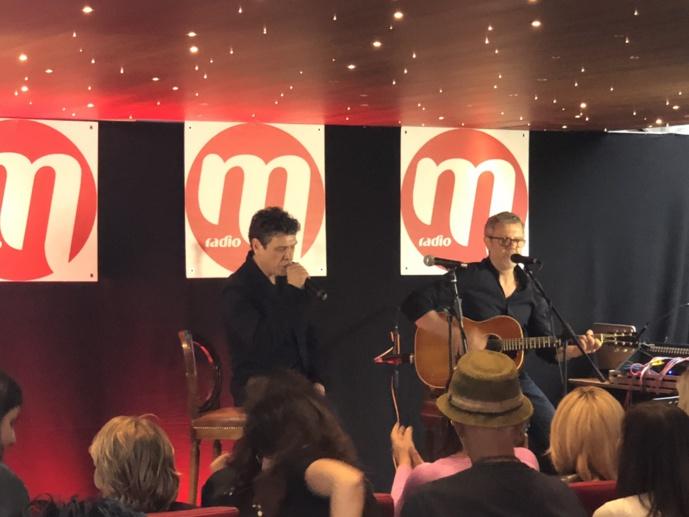 Brigitte Macron au concert privé M Radio à Paris