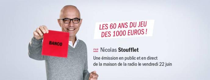 """Les 60 ans du """"Jeu des 1 000 euros"""" c'est pour le 22 juin"""