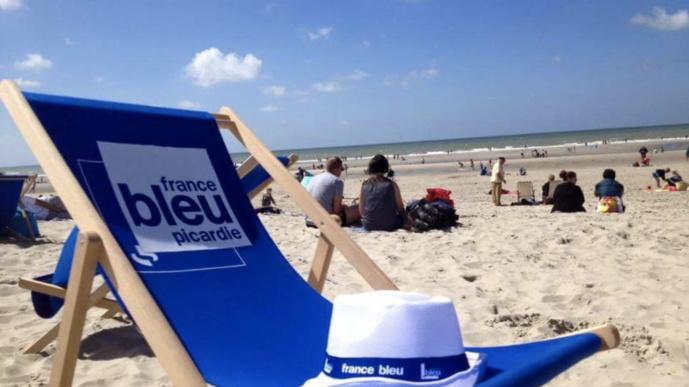 """L'opération """"France-Bleu-sur-Mer"""" en 2016, avec France Bleu Picardie. © Radio France"""