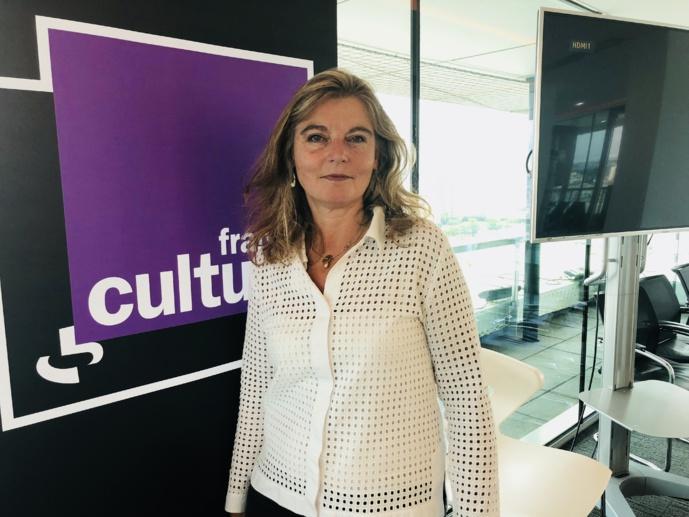 Sandrine Treiner dirige France Culture depuis 3 ans / Photo François Quairel / La Lettre Pro de la Radio