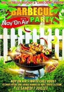 La radio Noy'On Air sort le barbecue