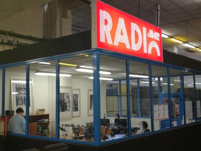 Radio Ground Control, une webradio au cœur d'un lieu atypique en plein Paris. © Olivier Malcurat / 3XL Médias